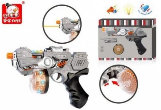 Купить Пистолет Наша Игрушка Галактический цвет в ассортименте, 265x40x195 мм, для мальчика, Игрушечное оружие