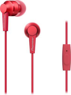 Наушники Pioneer SE-C3T-R красный наушники pioneer se mj512 r черно красный