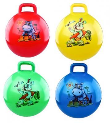 Мяч-попрыгун Наша Игрушка Мяч латексный 55см разноцветный от 3 лет латекс игрушка