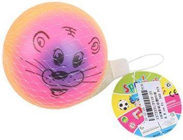 Мяч-попрыгун Наша Игрушка Мяч Радость разноцветный от 3 лет пластик P110-25 цена