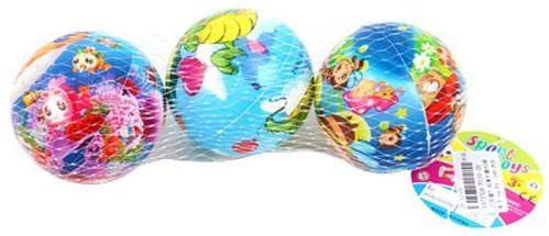 Мяч-попрыгун Наша Игрушка Мяч, 7,5см разноцветный от 3 лет пластик P110-20