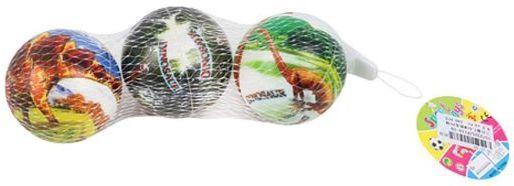 Мяч-попрыгун Наша Игрушка Мяч Динозавры разноцветный от 3 лет пластик P110-19 цена