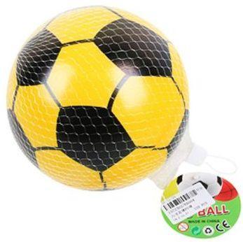 Мяч-попрыгун Наша Игрушка Мяч Футбол желтый от 3 лет пластик E6004 цена