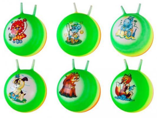 Мяч-попрыгун Наша Игрушка Радужный разноцветный от 3 лет пластик 635151 цена