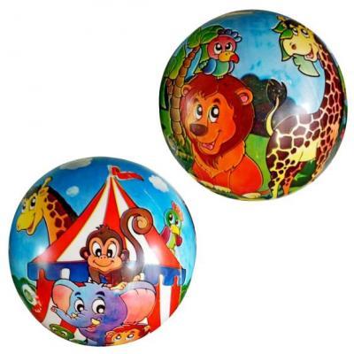 Мяч-попрыгун Наша Игрушка Мяч детский Веселые зверята разноцветный от 3 лет пластик 635762