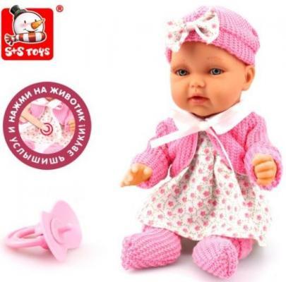 Кукла Наша Игрушка Анечка 28 см со звуком 200099752 цена