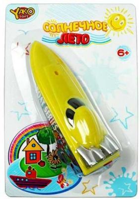 Катер Наша Игрушка Солнечное лето зеленый M6513 игрушка shantou gepai наша игрушка катер солнечное лето m6514