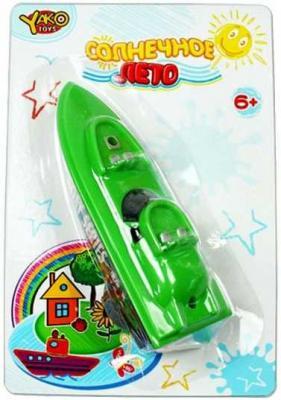 Наша Игрушка с заводным механизмом зеленый M6514