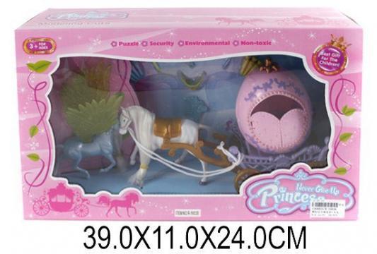 Карета с лошадью Наша Игрушка Карета для принцессы R-1683B