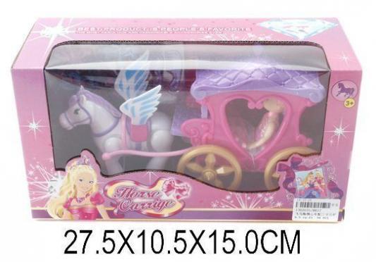Карета с лошадью Наша Игрушка Карета сказочная 8617