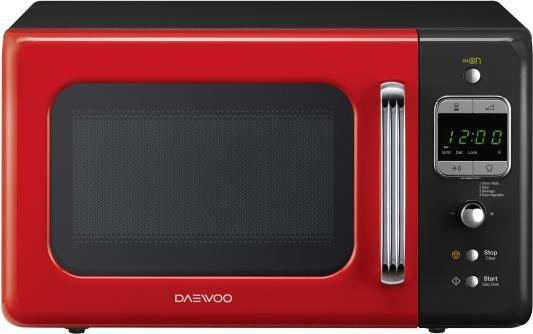 СВЧ DAEWOO KOR-6LBRRB 800 Вт чёрный красный