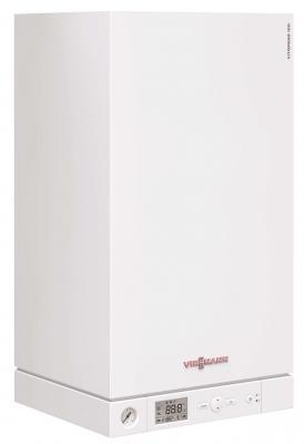 Газовый котёл Viessmann 100-W A1JB 12 кВт отвод stout 90 градусов диаметр 60 100 м п pp fe с адаптером совместим с baxi и viessmann sca 8610 210090