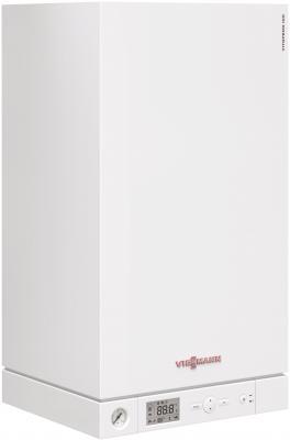 Газовый котёл Viessmann Vitopend 100-W A1JB010 24 кВт отвод stout 90 градусов диаметр 60 100 м п pp fe с адаптером совместим с baxi и viessmann sca 8610 210090