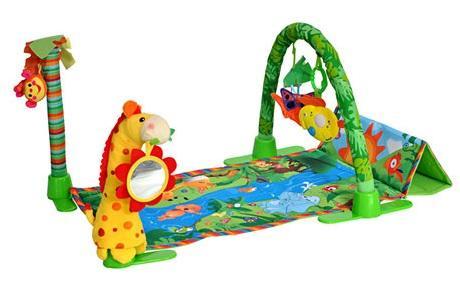 развивающий коврик everflo jungle hs0368150 8151 orange Развивающий коврик Everflo Райский сад (HS0263123)