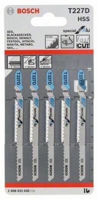 Лобзиковая пилка Bosch T 227 D HSS 5шт 2608631030