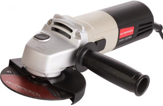 Углошлифовальная машина Интерскол УШМ-125/900 125 мм 900 Вт 516.1.0.00 цена