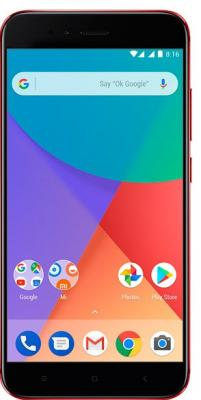 Смартфон Xiaomi MI A1 32 Гб красный смартфон