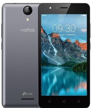 Смартфон Neffos C5A 8 Гб серый (TP703A21RU)