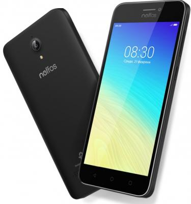 Смартфон Neffos Y5s 16 Гб серый (TP804A24RU) blackview a8 смартфон