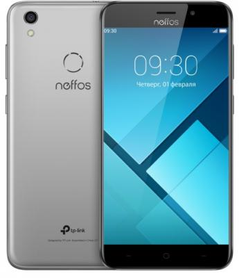 Смартфон Neffos C7 16 Гб серый (TP910A24RU) смартфон
