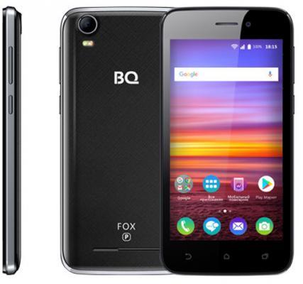 Смартфон BQ BQ-4583 Fox Power черный 4.5 8 Гб Wi-Fi GPS 3G