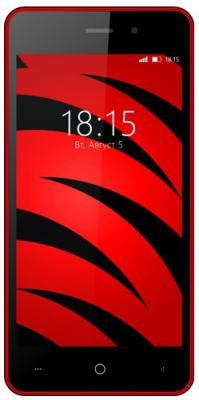 Смартфон BQ BQ-4526 Fox красный 4.5 8 Гб Wi-Fi GPS 3G