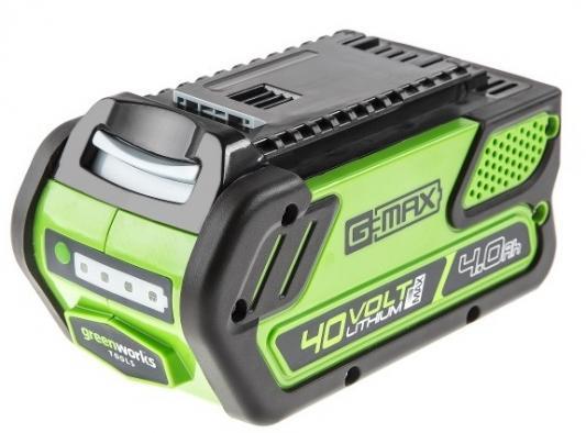 Батарея аккумуляторная Greenworks G40B4 аккумуляторная шлифовальная машина greenworks g24ros