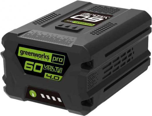 Литий-ионная аккумуляторная батарея 60V Digi-Pro Greenworks G60B4 литий ионная аккумуляторная батарея 60v greenworks g60b2