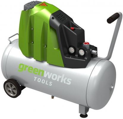 Компрессор Greenworks GAC50L 1,5кВт
