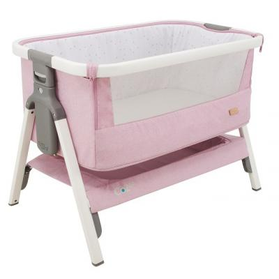 Колыбель Tutti Bambini CoZee (white and dusty pink 211205/1191) pink white dots twin size chair fold foam bed 1 8lb density sofa beds 6x32x70