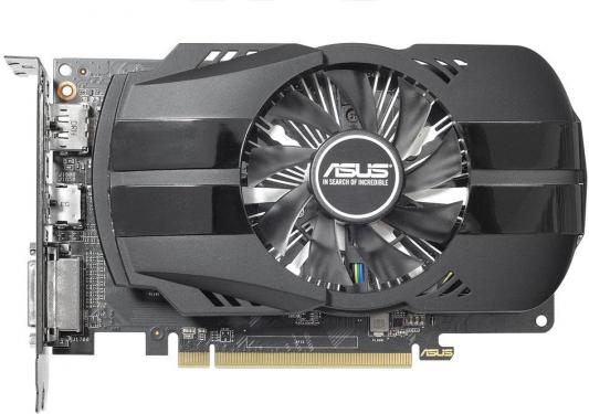 Видеокарта ASUS Radeon RX 550 PH-RX550-4G-M7 PCI-E 4096Mb 128 Bit Retail (PH-RX550-4G-M7)