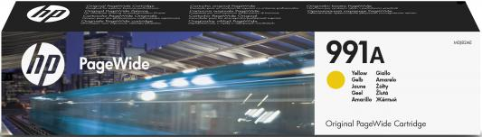 Картридж HP № 991A M0J82AE для HP PageWide Pro 755/772/777 желтый картридж hp 772 cn634a light gray cn634a