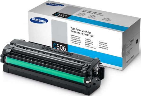 Картридж Samsung SU040A CLT-C506L для CLP-680 CLX-6260 голубой toner powder and chip for samsung 506 clt 506 for clp 680 clx6260fw clx 6260nd clx 6260nr laser printer hot sale