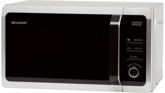 СВЧ Sharp R2852RSL 800 Вт серебристый цена и фото