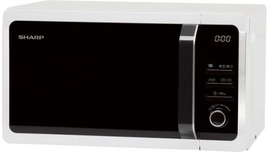 СВЧ Sharp R2852RW 800 Вт белый цена и фото