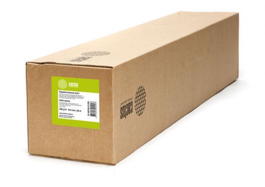 Холст Cactus CS-MC260-91430 914мм-30м 260г/м2 белый для струйной печати втулка 50.8мм 2