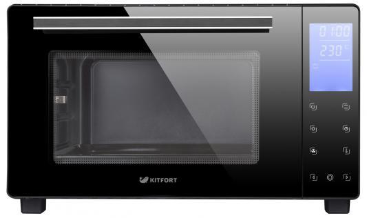 Мини-печь KITFORT КТ-1706 чёрный