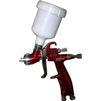 Краскораспылитель КРАТОН LVLP-03G верхн. бак 0.12л 70-95л/мин сопло 0.8мм 0.5кг