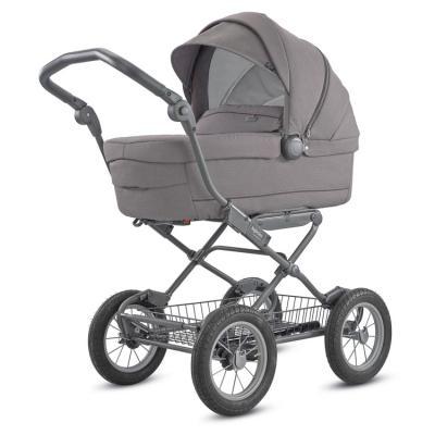 Купить Коляска для новорожденного Inglesina Sofia на шасси Ergo Bike (AB15K6SDG + AE15H6100/ цвет sideral grey), серый, Коляски для новорожденных
