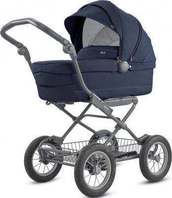 Коляска для новорожденного Inglesina Sofia на шасси Ergo Bike (AB15K6IPB + AE15H6100/ цвет imperial blue) коляска для новорожденного inglesina classica на шасси balestrino chrome ivory ab05e0vnl ae05h3100
