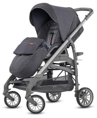 Фото - Прогулочная коляска Inglesina Trilogy (village denim/на сером шасси) коляска прогулочная everflo safari grey e 230 luxe