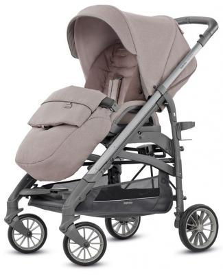 Фото - Прогулочная коляска Inglesina Trilogy (alpaca beige/на сером шасси) коляска прогулочная everflo safari grey e 230 luxe