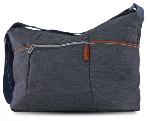 Фото - Сумка для коляски Inglesina Trilogy Day Bag (village denim) cow leather tote bag brand 2018 bolsa feminina new women handbag 100% genuine leather alligator shoulder bag free shipping