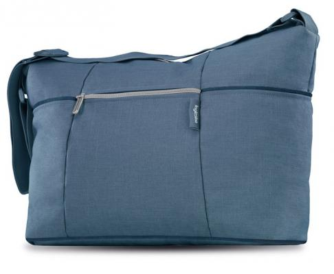 Сумка для коляски Inglesina Trilogy Day Bag (arctic blue) danjue genuine leather men wallets long coin purses big capacity card holder cowhide day clutch phone money bag