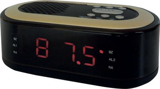 Радиобудильник Hyundai H-RCL230 чёрный радиобудильник uniel utp 49ykx