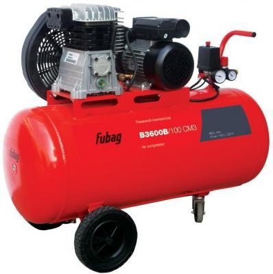 Компрессор Fubag B3600B/100 CM3 2.2кВт биметаллический радиатор rifar рифар b 500 нп 10 сек лев кол во секций 10 мощность вт 2040 подключение левое