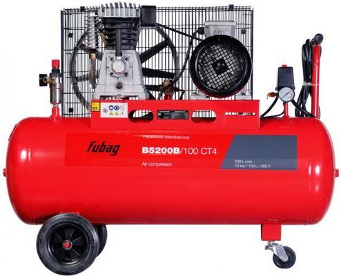 Компрессор Fubag B5200B/100 СТ4 3.0кВт биметаллический радиатор rifar рифар b 500 нп 10 сек лев кол во секций 10 мощность вт 2040 подключение левое