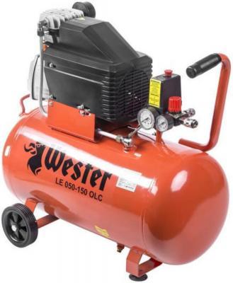 Компрессор Wester LE 050-150 OLC 1,5кВт поршневой масляный компрессор wester le 024 150 olc