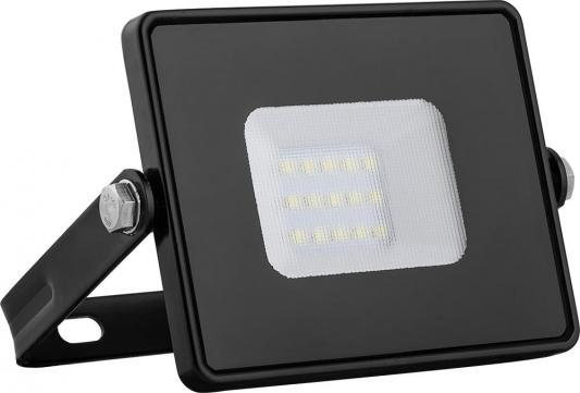 Прожектор светодиодный FERON 29490 2835 SMD 10W 4000K IP65, черный с матовым стеклом, LL-918 прожектор feron ll 920 2835 smd 30w 4000k ip65 ac220v 50hz black 29495
