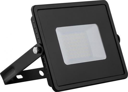 Прожектор светодиодный FERON 29497 2835 SMD 50W 4000K IP65, черный с матовым стеклом, LL-921 прожектор светодиодный feron 29494 2835 smd 20w 6400k ip65 белый с матовым стеклом ll 919